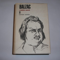 BALZAC OPERE VOL 8,UNIVERS 1990,RF3/3