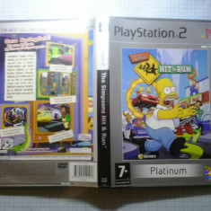 The Simpsons Hit & run PLATINUM - JOC PS2 Playstation - GameLand - Jocuri PS2, Actiune, Toate varstele, Single player