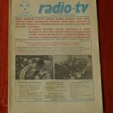 Ziar Radio Tv - anul XXVII nr 47 saptamana 15 - 21 Noiembrie 1981 !!!