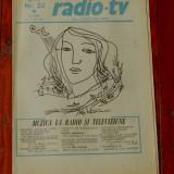 Ziar Radio Tv - anul XXVII nr 22 saptamana 24 - 30 mai 1981 !!!