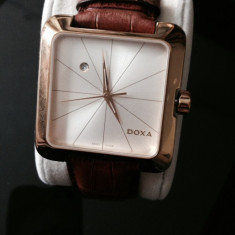 Ceas Doxa folosit,aproape nou, Lux - elegant, Quartz, Inox