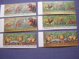 Guineea  1977   fauna   MI 793-828  MNH   36 valori  cota Michel = 65 eu