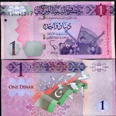 !!! LIBIA - 1 DINAR (2013) - P 76 - UNC