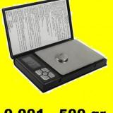 CANTAR BIJUTERII 0,01g - 500g!  2 zecimale electronic digital pt aur monezi
