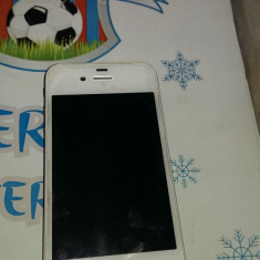 VAND iPhone 4 Apple S, ALB, 16 GB, PASTRAT IN FOLIE FARA ZGARIETURI, IMPECABIL, Vodafone