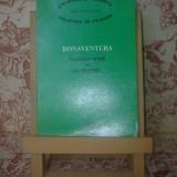 Bonaventura Itinerariul mintii in Dumnezeu - Roman
