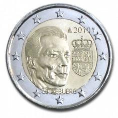 LUXEMBURG moneda 2 euro comemorativa 2010, UNC, Europa, Cupru-Nichel