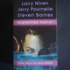 LARRY NIVEN * JERRY POURNELLE * STEVEN BARNES - MOSTENIREA HEOROT  {pagina de garda este rupta}