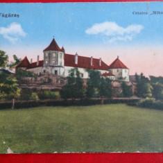 Carte postala - Fagaras - Cetatea Mihai Viteazul - Carte Postala Banat dupa 1918