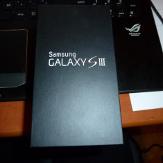 Vand Samunsg Galaxy S3 64gb! - Telefon mobil Samsung Galaxy S3, Negru, Neblocat, 1 GB, 2G & 3G