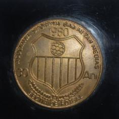 Medalie fotbal 1980 - aniversare 30 ani GAZ METAN MEDIAS