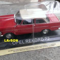 Macheta metal DeAgostini - Opel Rekord P2 - NOUA din colectia Masini de Legenda - Macheta auto, 1:43