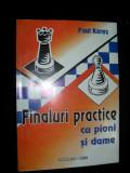 Paul Keres , Finaluri practice cu pioni si dame, Alta editura