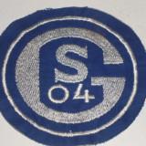 Emblema fotbal brodata - SCHALKE 04