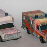 Matchbox - Lot 2 x Ambulance - Macheta auto