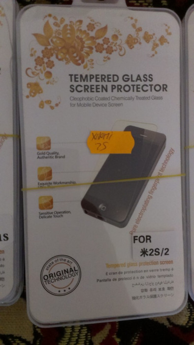 Folie sticla Xiaomi Hongmi 2S  super folie temperata si securizata