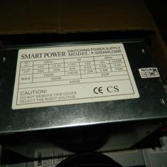 Vand sursa 400W Smart Power P-3200anxlcnnr 4x molex, 24 pini mobo, 4pini CPU, 1x Floppy, vent 80mm - Sursa PC, 400 Watt