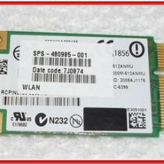 Placa de retea wireless mini HP DV7