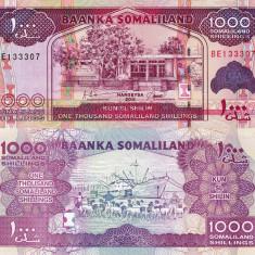 SOMALILAND 1.000 shillings 2011 UNC!!! - bancnota africa