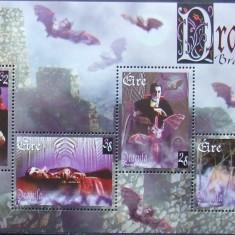 IRLANDA - DRACULA - 1 M/SH NEOBLITERATA - E0396