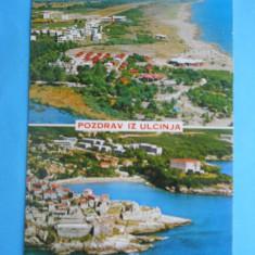 HOPCT12246 MUNTENEGRU ULCINJ-ORAS IN EXTREMITATEA SUDICA A TARII CU POPULATIE MAJORITAR ALBANEZA [ MICA COMUNITATE VLAHO-AROMANI !!        [ NECIRCULA