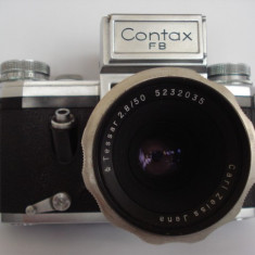 CONTAX F B - Carl Zeiss Jena - Tessar 2, 8/50 - Aparate Foto cu Film
