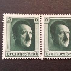 Germania Reich 1937 Hitler Mi 646 bloc nestampilat