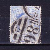 Timbre ANGLIA 1902 -11 = KING EDUARD VII, 2, 1/2 penny ALBASTRU