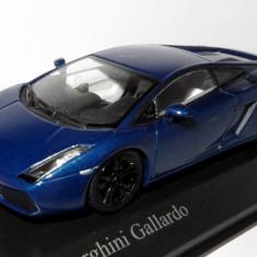 Minichamps Lamborghini Gallardo blue hera 1:43 - Macheta auto
