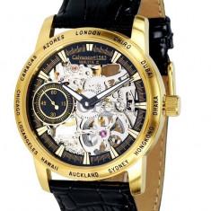 Ceas de lux Calvaneo 1583 Squelette II Gold, original, nou, cu factura si garantie! - Ceas barbatesc Calvaneo, Lux - elegant