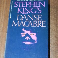 STEPHEN KING - DANSE MACABRE. CARTE IN LIMBA ENGLEZA - Carte Horror