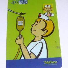 Cartela telefonica -MEDICAL - MEDIC - ASISTENTA - BRAZILIA - 2+1 gratis toate produsele la pret fix - CHA1098 - Cartela telefonica straina