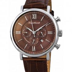 Ceas de lux Engelhardt Raymond Steel Brown, original, nou, cu factura si garantie! - Ceas barbatesc Engelhardt, Lux - elegant, Quartz, Otel