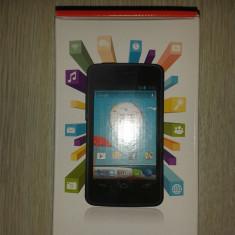 Alcatel OT-875 (Vodafone Smart Mini) nou cu factura si garantie NEGOCIABIL! - Telefon mobil Vodafone, Negru, 4GB, Single core, 512 MB