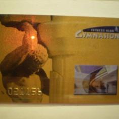CARD NEBANCAR - FITNESS KLUB GYMNASION - WARSZAWA - POLONIA . - Card Bancar