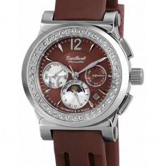 Ceas de lux Engelhardt Helena Steel Brown, original, nou, cu factura si garantie! - Ceas dama Engelhardt, Lux - elegant, Cauciuc, Analog