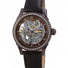 Ceas de lux Engelhardt Cecile Steel Brown, original, nou, cu factura si garantie! - Ceas dama Engelhardt, Lux - elegant, Piele, Analog