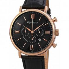 Ceas de lux Engelhardt Raymond Rose Gold Black, original, nou, cu factura si garantie! - Ceas barbatesc Engelhardt, Lux - elegant, Quartz