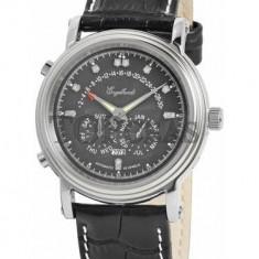 Ceas de lux Engelhardt Marcus Diamond Steel Black, original, nou, cu factura si garantie! - Ceas barbatesc Engelhardt, Lux - elegant, Mecanic-Automatic, Otel