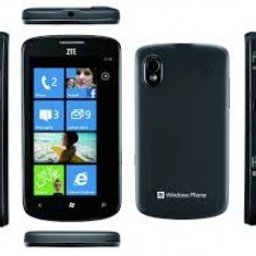 Vand Zte Tania Nou - Telefon mobil ZTE, Negru, 4GB, Neblocat, Dual core, 512 MB