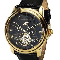 Ceas de lux Calvaneo 1583 Evidence Gold Black 2, original, nou, cu factura si garantie! - Ceas barbatesc Calvaneo, Lux - elegant, Mecanic-Automatic