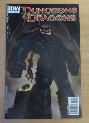 Dungeons and Dragons #10 . IDW Comics foto