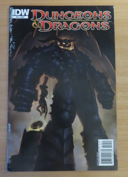 Dungeons and Dragons #10 . IDW Comics
