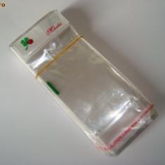 PUNGA / PUNGI / PUNGUTE AMBALAJ MARTISOR / MARTISOARE (pret/100 buc) 5.9 cm latime x 15.6 cm lungime