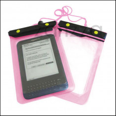 Husa Amazon Kindle 4 3 Paperwhite Touch Nook Color Sony PRS-350 waterproof rezistenta la apa