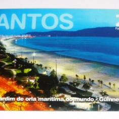Cartela telefonica - TURISM - SANTOS - PLAJA - NOCTURN - BRAZILIA - 2+1 gratis toate produsele la pret fix - CHA1099 - Cartela telefonica straina