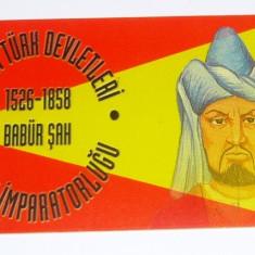 Cartela telefonica - ISTORIE - REGI - BABUR SAH - TURCIA - 2+1 gratis toate produsele la pret fix - CHA1142 - Cartela telefonica straina