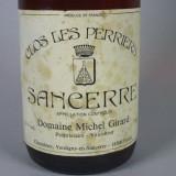 =Oferta=Vin de Colectie-Clos Les Perries Sancerre 1988-Domeniile Michel Girard-Franta-Editie Limitata=