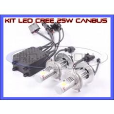 KIT LED LEDURI CREE 25W 12V, 24V - H1, H3 (1600 LM) - APRINDERE INSTANTA