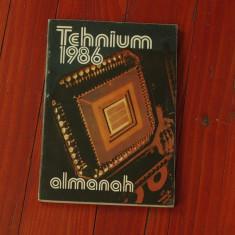 Almanah Tehnium 1986 !